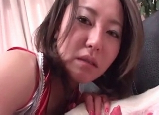 Japanese zoophile swallows dog cum with love
